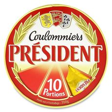 PRESIDENT Coulommiers 10 portions 350g