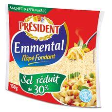 PRESIDENT Président emmental râpé 150g