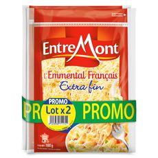 ENTREMONT Entremont emmental râpé 2x160g