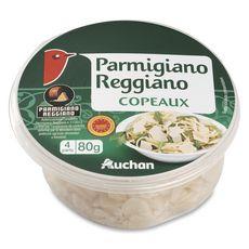 Auchan parmigiano reggiano en copeaux 80g