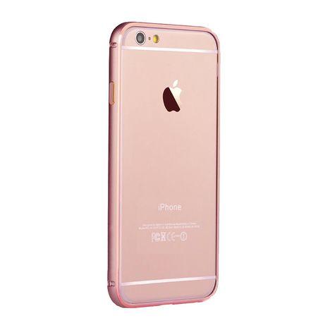 MUVIT Bumper pour iPhone 6+ / 6S+ - Aluminium rosegold