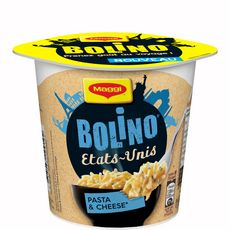 Maggi Bolino Etats-Unis, cup pasta & cheese 78g