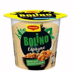 Bolino Espagne pâtes aux légumes du soleil 65g