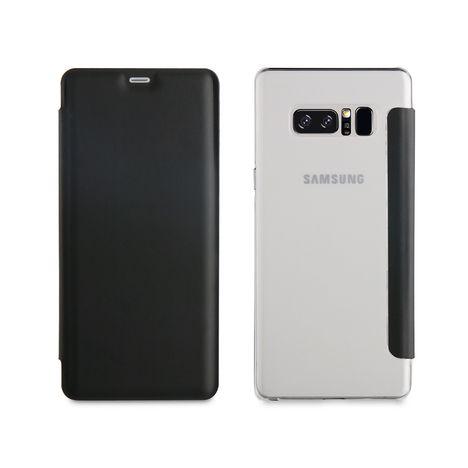 QILIVE Etui folio pour Galaxy Note 8 - Gris