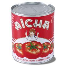 AICHA Double concentré de tomates  880g