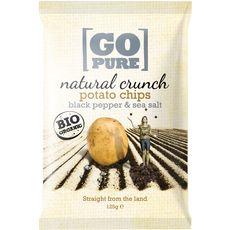 Go Pure bio chips poivre noir 125g