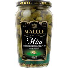 MAILLE Maille Mini cornichons petits croquants saveur originale 210g 210g