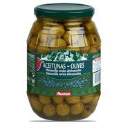 Auchan olives manzanilla vertes dénoyautées 920g