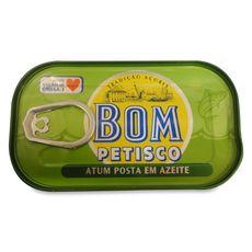 Bom Petisco thon à l'huile d'olive 120g