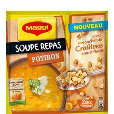MAGGI Maggi soupe repas potirons avec croutons 75g