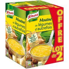 KNORR Knorr Moulinée de légumes d'autrefois soupe liquide en brique 2x1l 2x1l