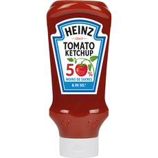 Heinz tomato ketchup -50% de sucre et -50% de sel 665g