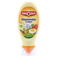 Amora mayonnaise de dijon nature flacon souple 415g