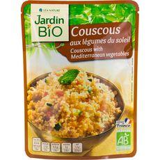 Jardin Bio couscous aux légumes 220g