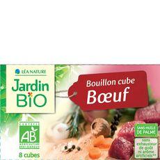 Jardin Bio bouillon cube boeuf sans huile de palme x10 -80g