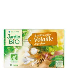 JARDIN BIO ETIC Jardin Bio Bouillon cube de volaille dégraissé sans huile de palme 8x10g 8x10g