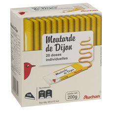 AUCHAN Auchan moutarde sticks 20x10g