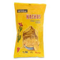 Auchan tortilla chips nachos 200g