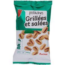 Auchan pistaches grillées 150g