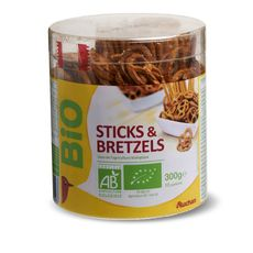 Auchan bio sticks bretzels tubo 300g