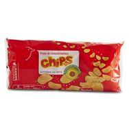 Auchan chips nature 6x30g