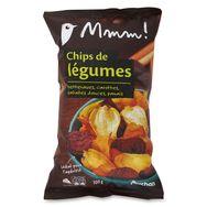 Mmm! chips de légumes 100g