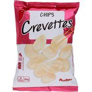 Auchan chips crevettes 50g