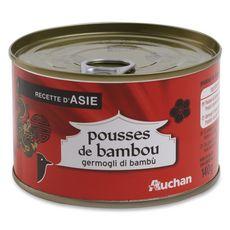 Auchan Pousses de bambou 140g