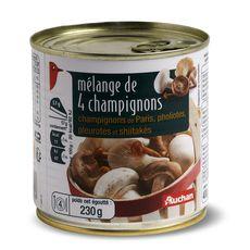Auchan mélange 4champignons 230g