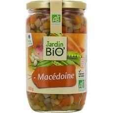 JARDIN BIO ETIC Macédoine de légumes bocal 660g