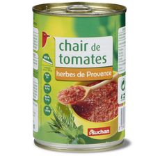 Auchan chair de tomates aux herbes de provence 400g