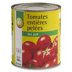 POUCE Pouce Tomates pelées 480g