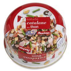 AUCHAN Salade catalane au thon 250g