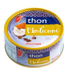 Auchan thon à l'indienne 160g