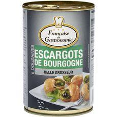 FRANCAISE DE GASTRONOMIE Escargots de Bourgogne belle grosseur 5 dz 5x12 230g