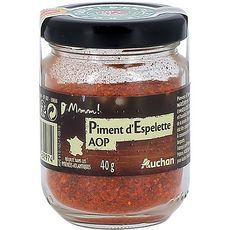Gourmet AUCHAN MMM! Piment d'Espelette AOP récolté dans les Pyrénées-Atlantique