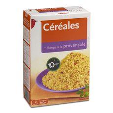 AUCHAN Céréales mélange à la provençale 2 sachets de 200g