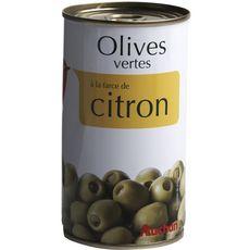 Auchan Olives vertes à la farce de citron 150g