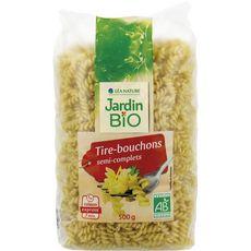 JARDIN BIO ETIC Jardin Bio Pâtes tire-bouchons semi-complets cuisson rapide 3min 500g 500g