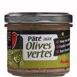 Auchan paté apéro olives vertes 90g