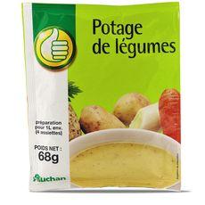 Pouce Potage légumes 4 assiettes 68g