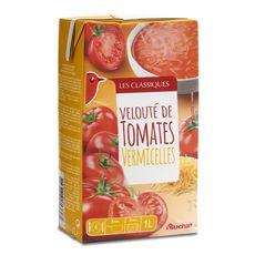 Auchan soupe tomate vermicelle 1l