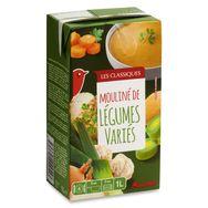 Auchan mouliné de légumes variés 1l
