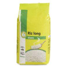 AUCHAN ESSENTIEL Riz long blanc 1kg