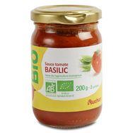 Auchan bio sauce tomate basilic 200g