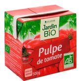 Jardin Bio pulpe de tomates brique 500ml
