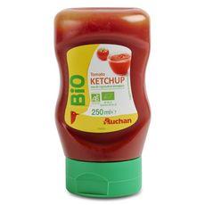 Auchan bio ketchup flacon 282g