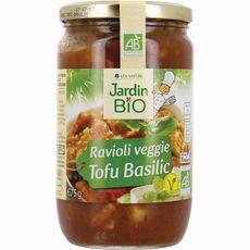 Jardin Bio Ravioli veggie au tofu et basilic 650g