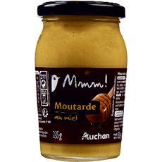 AUCHAN GOURMET Moutarde au miel 235g