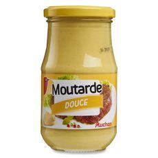 AUCHAN Moutarde douce 355g